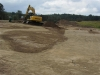 Bauarbeiten am Putting Course bei Binz 2012