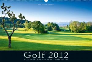 Deckblatt des Golfkalender 2012 - Mangfalltal
