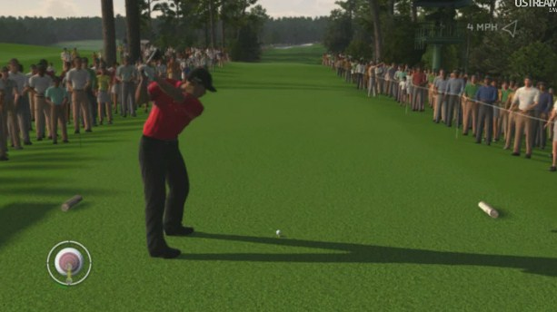Tiger Woods 2012 - the Masters