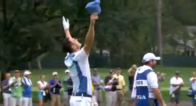 PGA Championship Round 1: Martin Kaymer eagles the 13th