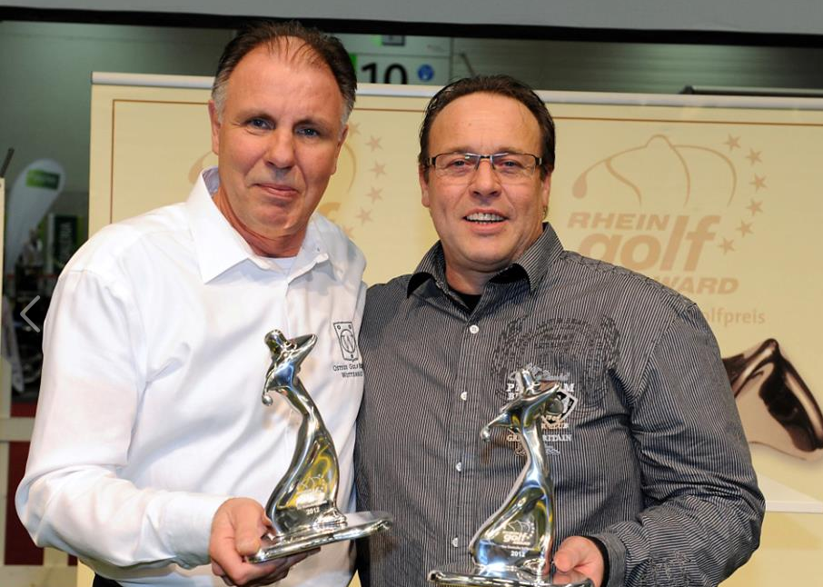 Rheingolf-Award Golfdestination Tourismus 2012