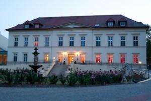 Schloss Teschow am Abend