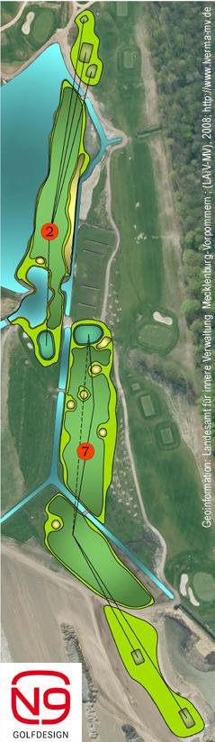 Umbau MV-Platz Golfpark Strelasund