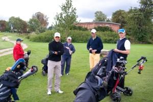 Tee 1 - Inselcourse Golfpark Strelasund