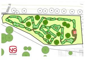 Putting Course am Golfplatz Binz