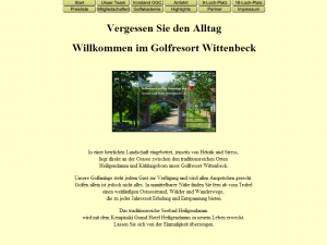 Webseite OGC Wittenbeck 2005