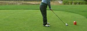 Golf-Abschlag