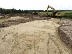 Baustart für den Golfplatz in Binz
