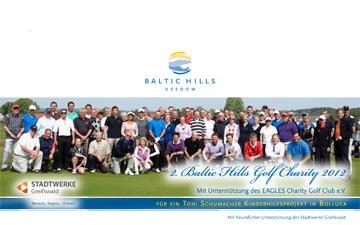 Charity-Golfcup von Baltic hilld Golf Usedom 2012