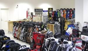 Golflädchen - Golfshop