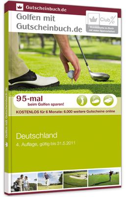 Golf-Gutscheinbuch