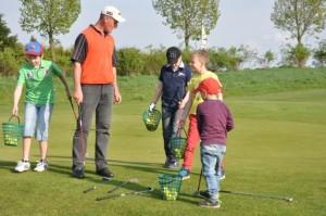Golf Kids Casting im Golfpark Strelasund