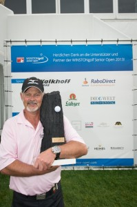 Sieger der WINSTONgolf Senior Open 2013 - Gordon Brand Jnr.