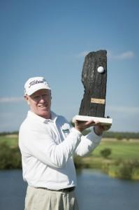 Sieger der Pon Senior Open 2012 - der Australier Terry Price