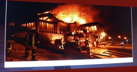 Brand im Golf- und Wellnesshotel Balmer See