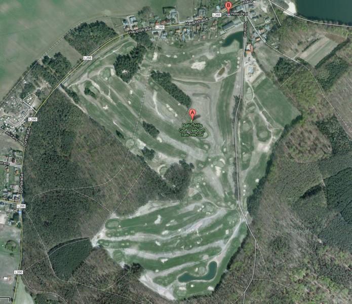 Neues Google Maps Kartenmaterial von Baltic Hills