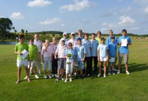 Teilnehmer der Jugendmannschaftsmeisterschaften Winstongolf, Ostsee Golf Club WIttenbeck, Golfclub Mecklenburg-Strelitz, Golfclub Rügen