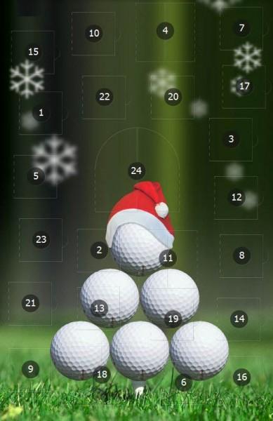 golf adventskalender
