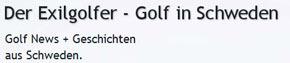 Golf in Schweden - der Exilgolfer