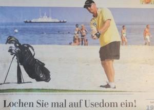Golfen aus Usedom: Lochen Sie mal auf der Sonneninsel ein!