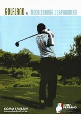Golf Broschüre Mecklenburg-Vorpommern 2009