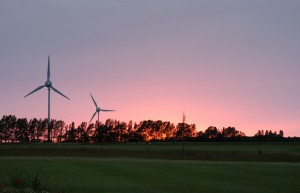 Sonnenuntergang Golfclub Warnemünde