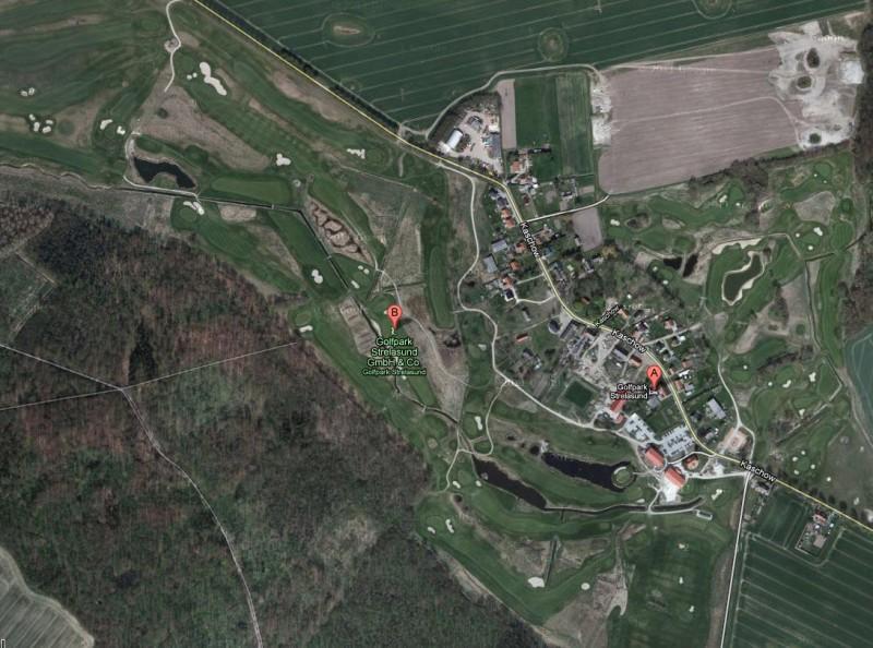 Neue Google Map Kartendaten - Strelasund