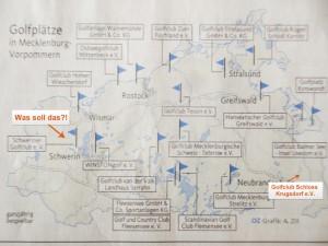 Eine Übersicht der Golfanlagen aus dem OZ-Artikel.