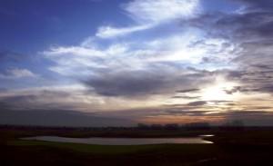 Golf in Warnemünde an der Mecklenburgischen Ostseeküste