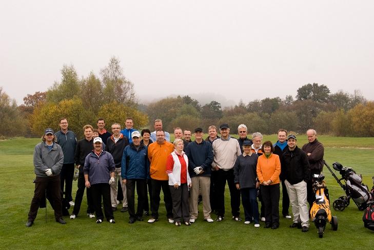 Gruppenfoto - Sunset Golf Saisonabschluss 2010