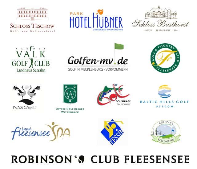 Partner und Sponsoren des Golf-Adventskalenders 2011