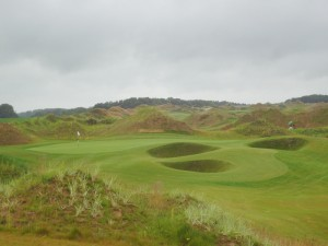 Ansicht des Golfplatzes WINSTONlinks